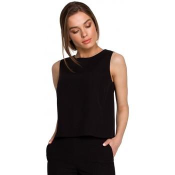 Textil Ženy Halenky / Blůzy Style S257 Halenka bez rukávů - zelená