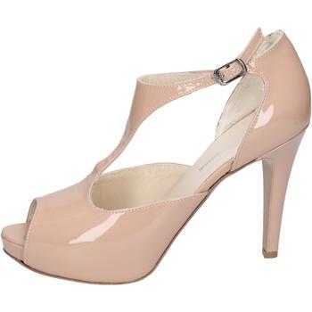 Boty Ženy Sandály Manifattura National Sandály BH121 Béžová