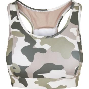 Spodní prádlo Ženy Sportovní podprsenky Urban Classics Brassière femme  tech mesh-grandes tailles rose camouflage