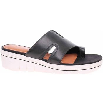 Boty Ženy Dřeváky Marco Tozzi Dámské pantofle  2-27537-26 black antic Černá