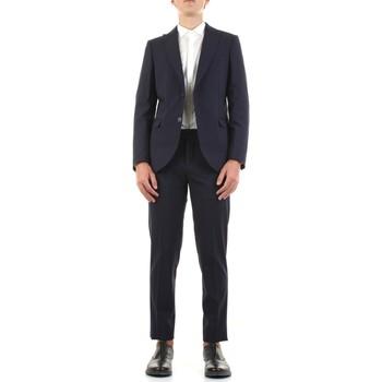 Textil Muži Obleky Mulish DNA-AB7211 Modrá