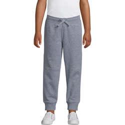 Textil Děti Teplákové kalhoty Sols PANTALONES DE JOGGING CORTE AJUSTADO Gris