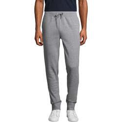 Textil Muži Teplákové kalhoty Sols PANTALONES DE JOGGING DE HOMBRE Gris