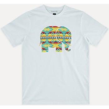 Textil Muži Trička s krátkým rukávem Trendsplant NAVAJO 029940MNAV Bílá