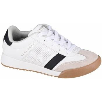 Boty Děti Nízké tenisky Skechers Zinger Bílé