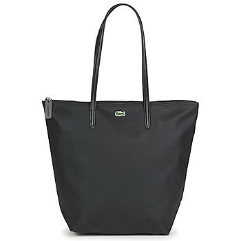 Taška Ženy Velké kabelky / Nákupní tašky Lacoste L.12.12 CONCEPT LONG Černá