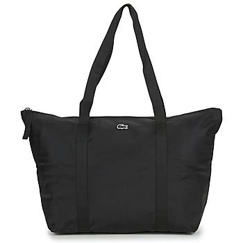 Taška Ženy Velké kabelky / Nákupní tašky Lacoste JEANNE LARGE Černá