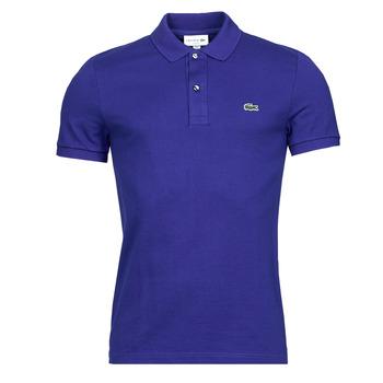 Textil Muži Polo s krátkými rukávy Lacoste POLO SLIM FIT PH4012 Modrá