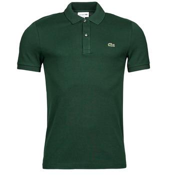 Textil Muži Polo s krátkými rukávy Lacoste POLO SLIM FIT PH4012 Zelená