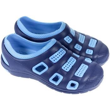 Boty Boty do vody John-C Gumené modré šľapky UNISEX NIXI tmavomodrá