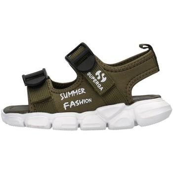 Boty Chlapecké Sandály Superga S83T248 Zelená