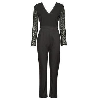 Textil Ženy Overaly / Kalhoty s laclem Betty London PARILLO Černá