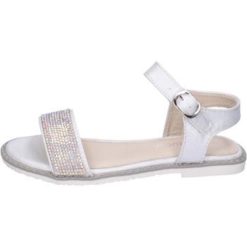 Boty Dívčí Sandály Fiorucci BH173 Stříbrný