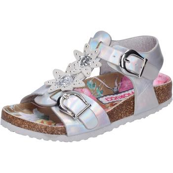 Boty Dívčí Sandály Fiorucci BH174 Stříbrný
