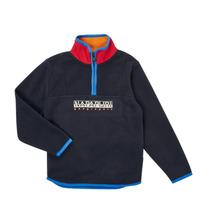 Textil Chlapecké Fleecové bundy Napapijri TILO HZ Tmavě modrá