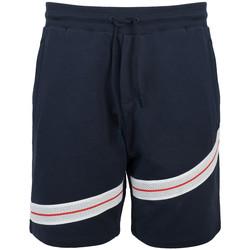 Textil Muži Kraťasy / Bermudy Bikkembergs  Modrá