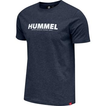 Textil Muži Trička s krátkým rukávem Hummel T-shirt  hmlLEGACY bleu foncé