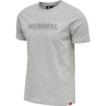 Textil Muži Trička s krátkým rukávem Hummel T-shirt  hmlLEGACY gris
