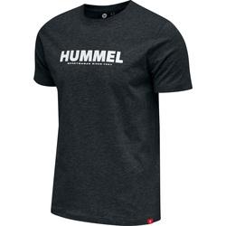 Textil Muži Trička s krátkým rukávem Hummel T-shirt  hmlLEGACY noir