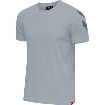 Textil Muži Trička s krátkým rukávem Hummel T-shirt  hmlLEGACY chevron gris