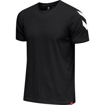 Textil Muži Trička s krátkým rukávem Hummel T-shirt  hmlLEGACY chevron noir