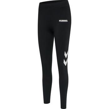 Textil Ženy Teplákové kalhoty Hummel Collant taille haute femme  hmlLEGACY noir