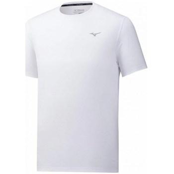 Textil Muži Trička s krátkým rukávem Mizuno Impulse Core Tee Bílé