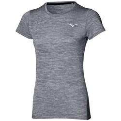 Textil Ženy Trička s krátkým rukávem Mizuno Impulse Core Tee Šedé