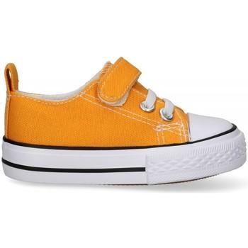 Boty Chlapecké Šněrovací polobotky  & Šněrovací společenská obuv Luna Collection 57726 Žlutá