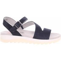 Boty Ženy Sandály Jana Dámské sandály  8-28600-26 navy Modrá