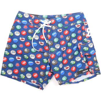 Textil Muži Plavky / Kraťasy Rrd - Roberto Ricci Designs 18323 Modrý