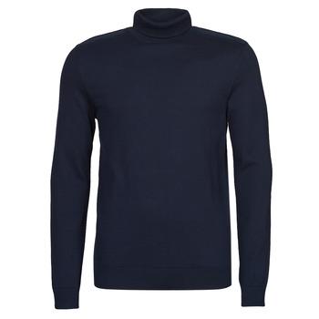 Textil Muži Svetry Selected SLHBERG Tmavě modrá