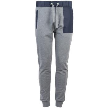 Textil Muži Teplákové kalhoty Bikkembergs  Modrá