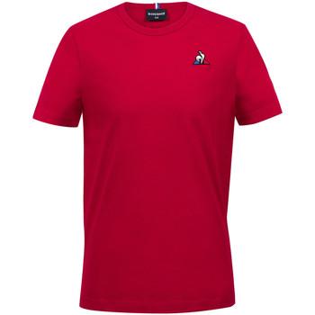 Textil Chlapecké Trička s krátkým rukávem Le Coq Sportif Essentiels Tee SS N°2 Kids Červená
