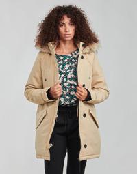 Textil Ženy Parky Vero Moda VMEXCURSIONEXPEDITION Béžová