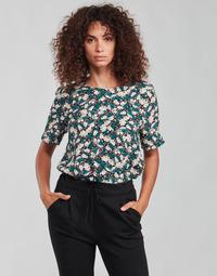 Textil Ženy Halenky / Blůzy Vero Moda VMRILLO Zelená