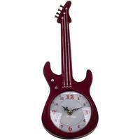 Bydlení Hodiny Signes Grimalt Stolní Hodiny Guitar Rojo