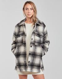 Textil Ženy Saka / Blejzry Only ONLALLISON Černá / Krémově bílá