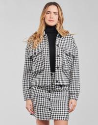 Textil Ženy Saka / Blejzry Moony Mood PABLAINCOURS Černá / Bílá
