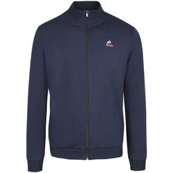 Textil Muži Mikiny Le Coq Sportif Essentiels FZ Sweat N°3 Modrá