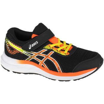 Boty Děti Běžecké / Krosové boty Asics Pre Excite 6 PS Černá