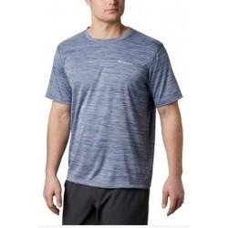 Textil Muži Trička s krátkým rukávem Columbia Zero Rules Short Sleeve Shirt modrá