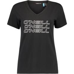Textil Ženy Trička s krátkým rukávem O'neill Triple Stack Černá