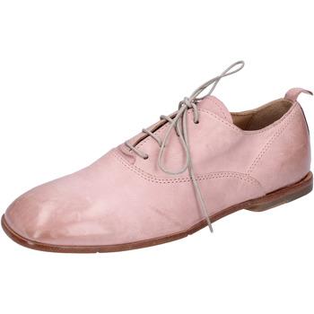 Boty Ženy Šněrovací polobotky  Moma BH286 Růžový