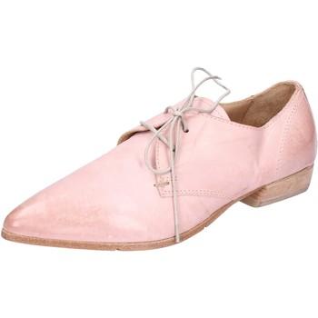 Boty Ženy Šněrovací polobotky  Moma BH296 Růžový