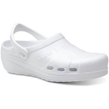 Boty Muži Pantofle Feliz Caminar Zuecos Sanitarios Asana - Bílá