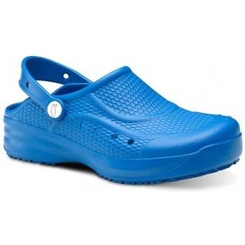 Boty Muži Pantofle Feliz Caminar Zueco Laboral Flotantes Evolution - Modrá