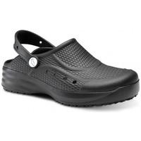 Boty Muži Pantofle Feliz Caminar Zueco Laboral Flotantes Evolution - Černá