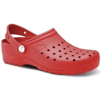 Boty Muži Pantofle Feliz Caminar Zuecos Sanitarios Flotantes Gruyere - Červená