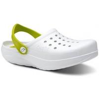 Boty Muži Pantofle Feliz Caminar Zuecos Sanitarios Kinetic - Bílá